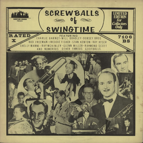 Various-Jazz Screwballs Of Swingtime vinyl LP album (LP record) US V-JLPSC584080