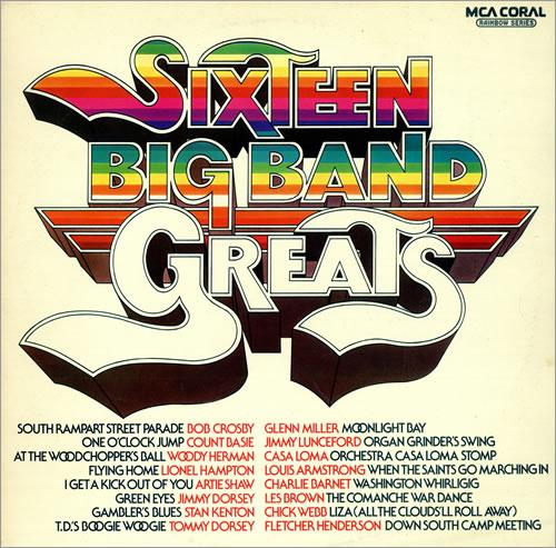 Various-Jazz Sixteen Big Band Greats vinyl LP album (LP record) UK V-JLPSI471723