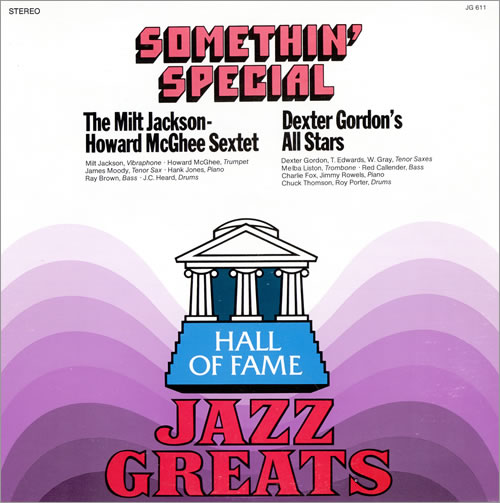 Various-Jazz Somethin' Special vinyl LP album (LP record) US V-JLPSO461971