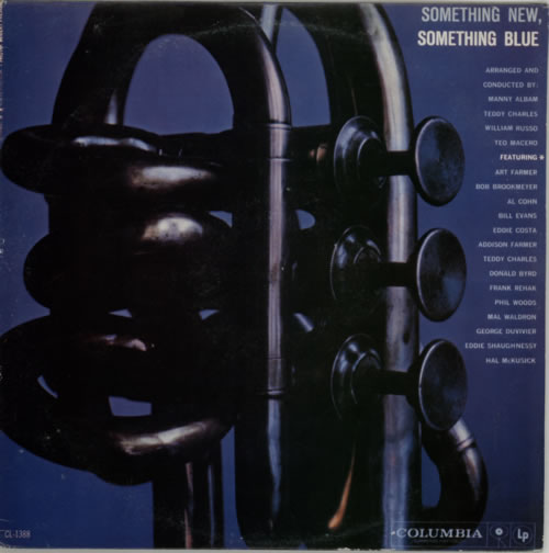 Various-Jazz Something New, Something Blue vinyl LP album (LP record) US V-JLPSO589923
