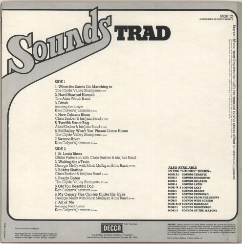Various-Jazz Sounds Trad vinyl LP album (LP record) UK V-JLPSO701977