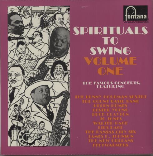 Various-Jazz Spirituals To Swing 1 & 2 2-LP vinyl record set (Double Album) UK V-J2LSP669150