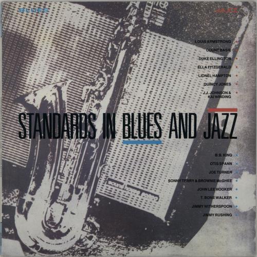 Various-Jazz Standards In Blues And Jazz vinyl LP album (LP record) UK V-JLPST646518