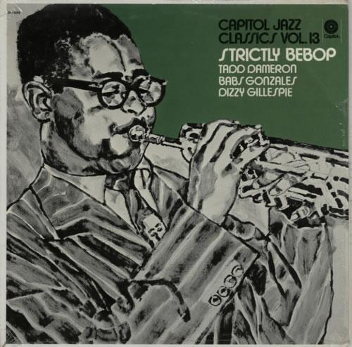Various-Jazz Strictly Bebop vinyl LP album (LP record) US V-JLPST361564