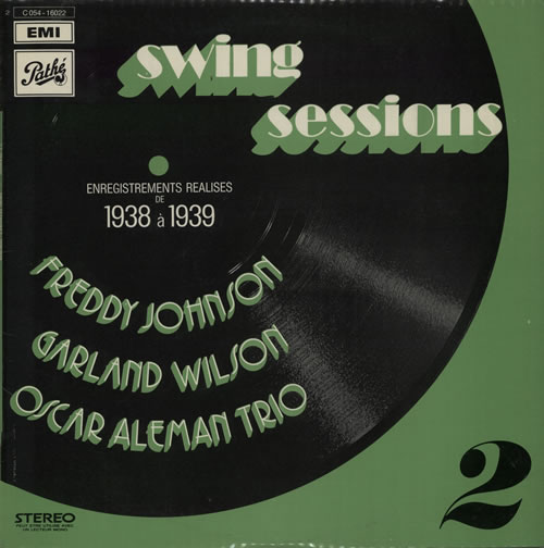 Various-Jazz Swing Sessions 2 vinyl LP album (LP record) French V-JLPSW584014