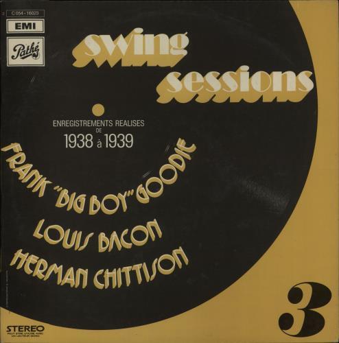 Various-Jazz Swing Sessions 3 vinyl LP album (LP record) French V-JLPSW675679