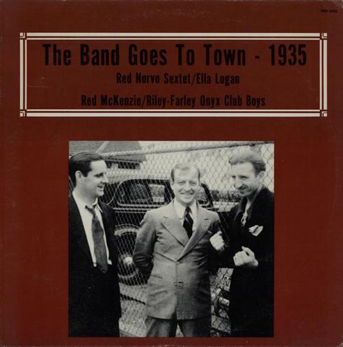 Various-Jazz The Band Goes To Town vinyl LP album (LP record) US V-JLPTH584015