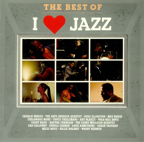 Various-Jazz The Best Of 'I Love Jazz' Dutch vinyl LP album (LP record)