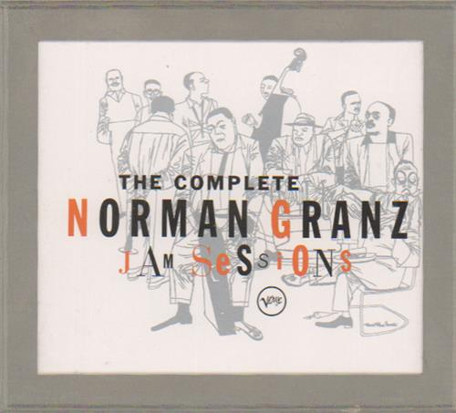 Various-Jazz The Complete Norman Granz Jam Sessions 5-CD album set US V-J5CTH549243