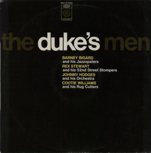 Various-Jazz The Duke's Men vinyl LP album (LP record) French V-JLPTH590456