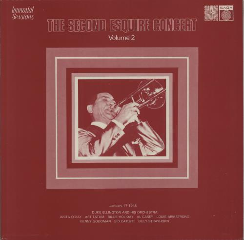 Various-Jazz The First & Second Esquire Concerts Volumes 1 & 2 4-LP vinyl album set (4 records) UK V-J4LTH421236