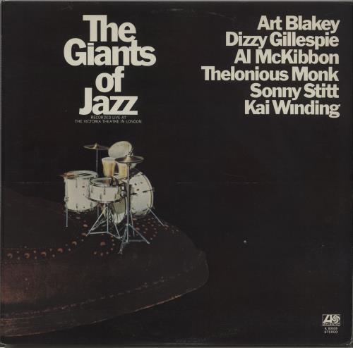 Various-Jazz The Giants Of Jazz 2-LP vinyl record set (Double Album) UK V-J2LTH496160