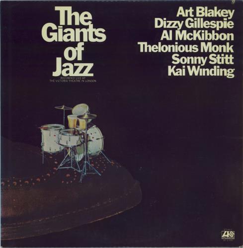 Various-Jazz The Giants Of Jazz 2-LP vinyl record set (Double Album) US V-J2LTH532111