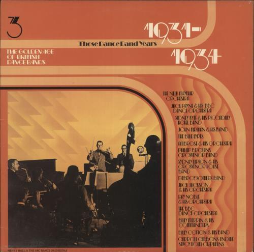 Various-Jazz The Golden Age Of British Dance Bands 1931-1934 vinyl LP album (LP record) UK V-JLPTH721751