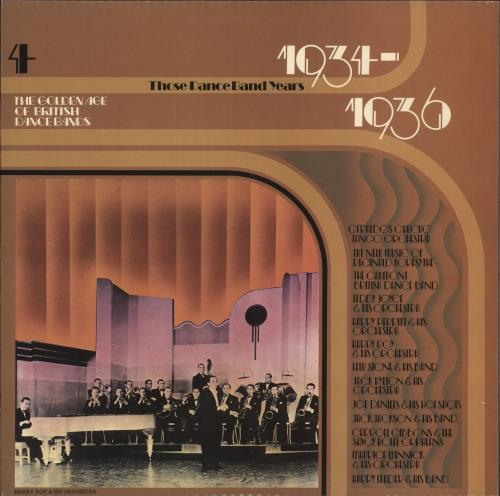 Various-Jazz The Golden Age Of British Dance Bands 1934-1936 vinyl LP album (LP record) UK V-JLPTH721743