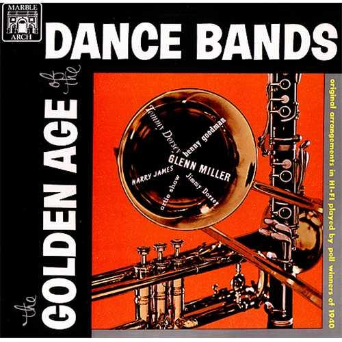 Various-Jazz The Golden Age Of The Dance Bands vinyl LP album (LP record) UK V-JLPTH409438