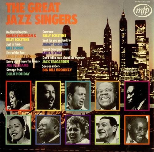Various-Jazz The Great Jazz Singers vinyl LP album (LP record) UK V-JLPTH496260