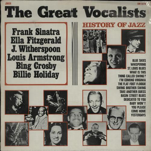 Various-Jazz The Great Vocalists - Sealed vinyl LP album (LP record) Italian V-JLPTH580377