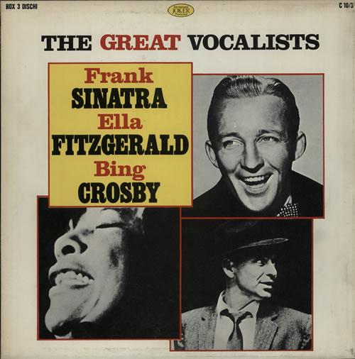 Various-Jazz The Great Vocalists Vinyl Box Set Italian V-JVXTH580365