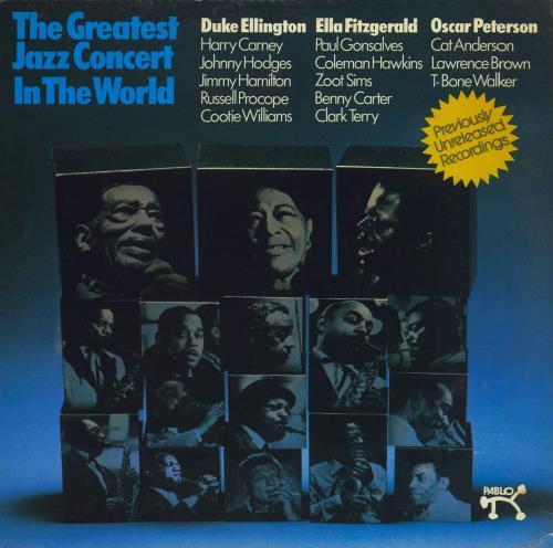 Various-Jazz The Greatest Jazz Concert In The World 4-LP vinyl album set (4 records) UK V-J4LTH405277