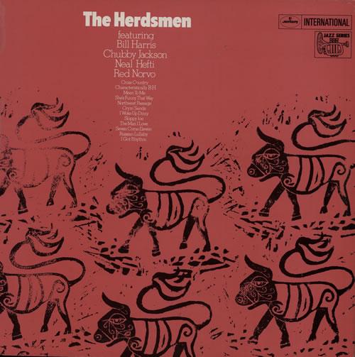 Various-Jazz The Herdsmen vinyl LP album (LP record) UK V-JLPTH568176