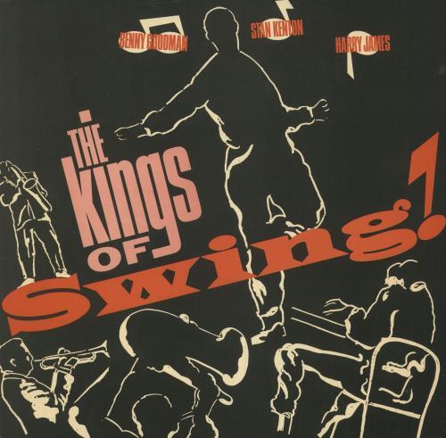 Various-Jazz The Kings Of Swing vinyl LP album (LP record) UK V-JLPTH748933
