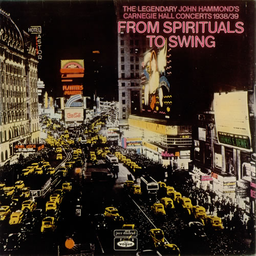 Various-Jazz The Legendary John Hammond's Carnegie Hall Concerts 1938/39 2-LP vinyl record set (Double Album) UK V-J2LTH548033