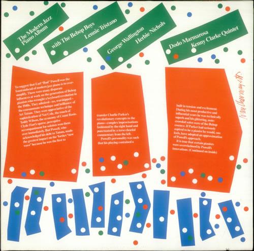 Various-Jazz The Modern Jazz Piano Album 2-LP vinyl record set (Double Album) German V-J2LTH541384
