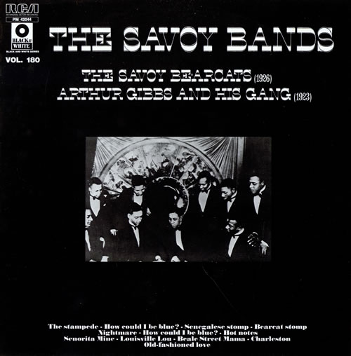 Various-Jazz The Savoy Bands vinyl LP album (LP record) French V-JLPTH462177
