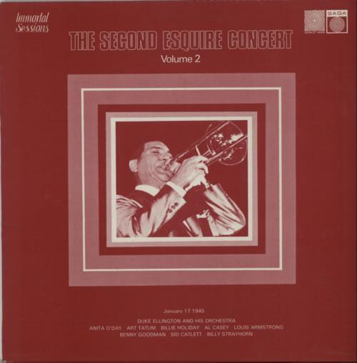 Various-Jazz The Second Esquire Concert Volume 2 vinyl LP album (LP record) UK V-JLPTH616586