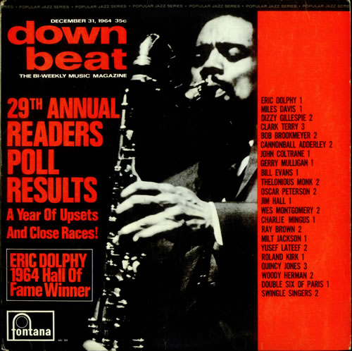 Various-Jazz The Winners Of Down Beat's Readers Poll 1964 vinyl LP album (LP record) UK V-JLPTH529691