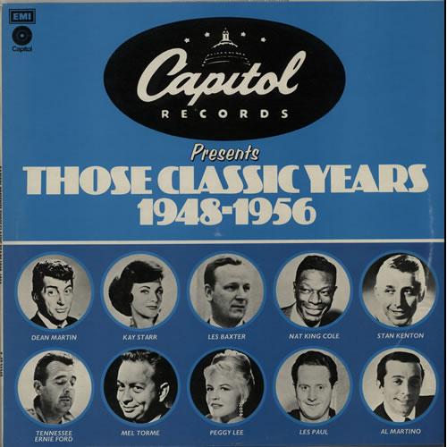 Various-Jazz Those Classic Years 1948-1956 vinyl LP album (LP record) UK V-JLPTH457202