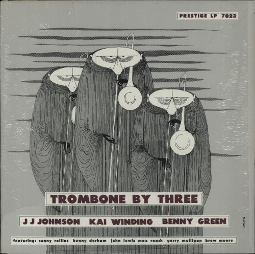 Various-Jazz Trombone By Three vinyl LP album (LP record) US V-JLPTR678316