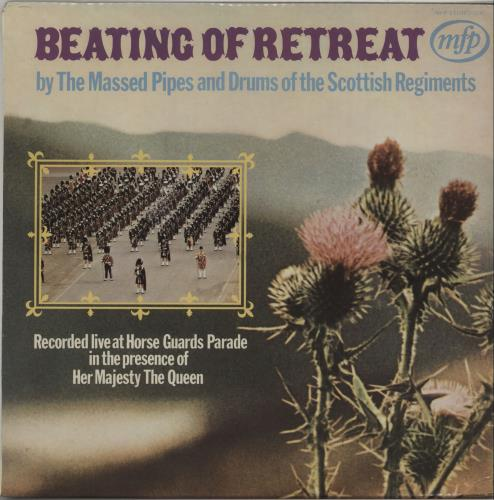 Various-Military Bands Beating Of Retreat vinyl LP album (LP record) UK VRBLPBE670531