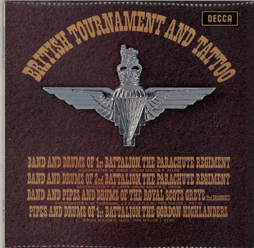 Various-Military Bands British Tournament And Tattoo '69 vinyl LP album (LP record) UK VRBLPBR641043