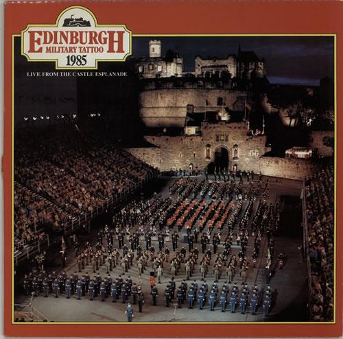 Various-Military Bands Edinburgh Military Tattoo 1985 vinyl LP album (LP record) UK VRBLPED641047