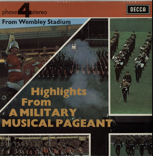 Various-Military Bands Highlights From A Military Musical Pageant vinyl LP album (LP record) UK VRBLPHI641050