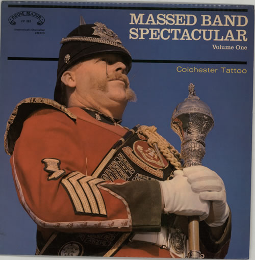 Various-Military Bands Massed Band Spectacular Volume One vinyl LP album (LP record) UK VRBLPMA641139
