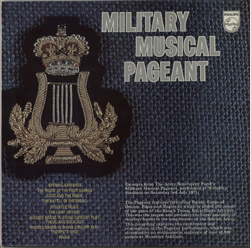 Various-Military Bands Military Musical Pageant vinyl LP album (LP record) UK VRBLPMI641169