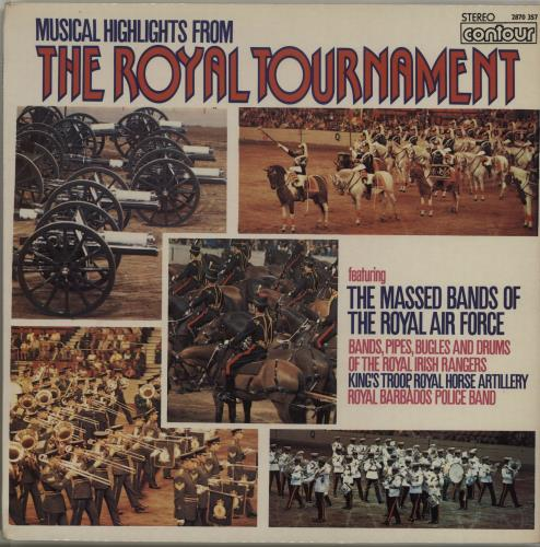 Various-Military Bands Musical Highlights From The Royal Tournament vinyl LP album (LP record) UK VRBLPMU686764
