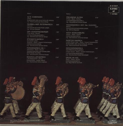 Various-Military Bands Preussens Gloria vinyl LP album (LP record) German VRBLPPR690951