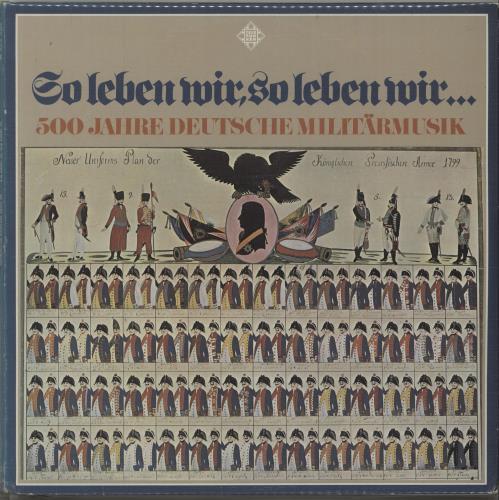 Various-Military Bands So Leben Wir, So Leben Wir ... 3-LP vinyl record set (Triple Album) German VRB3LSO676556