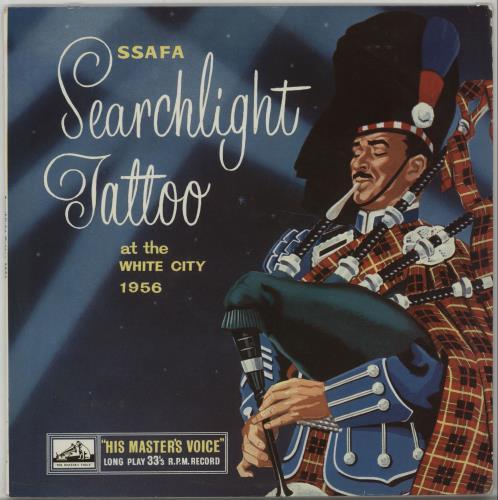 "Various-Military Bands SSFA Searchlight Tattoo 1956 10"" vinyl single (10"" record) UK VRB10SS665465"