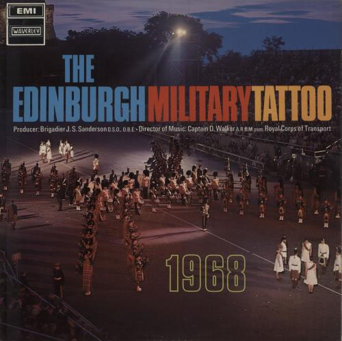 Various-Military Bands The Edinburgh Military Tattoo 1968 vinyl LP album (LP record) UK VRBLPTH674884