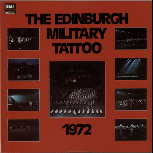 Various-Military Bands The Edinburgh Military Tattoo 1972 vinyl LP album (LP record) UK VRBLPTH641319