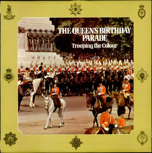 Various-Military Bands The Queen's Birthday Parade - Trooping The Colour vinyl LP album (LP record) UK VRBLPTH512957