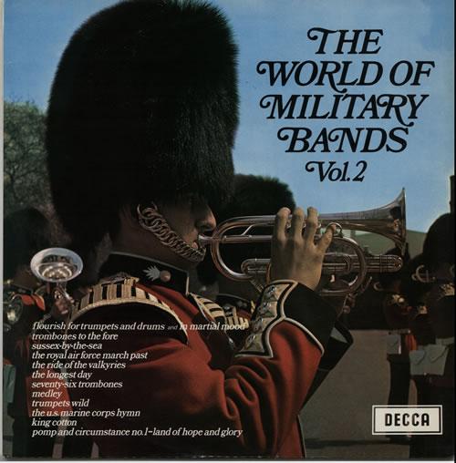 Various-Military Bands The World Of Military Bands Vol. 2 vinyl LP album (LP record) UK VRBLPTH630156