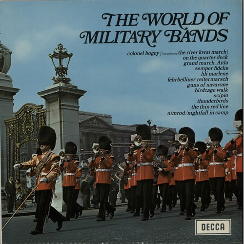 Various-Military Bands The World Of Military Bands vinyl LP album (LP record) UK VRBLPTH641167