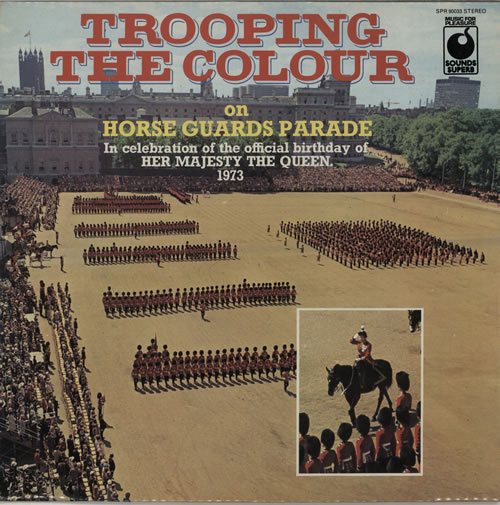 Various-Military Bands Trooping The Colour On Horseguards Parade vinyl LP album (LP record) UK VRBLPTR641056