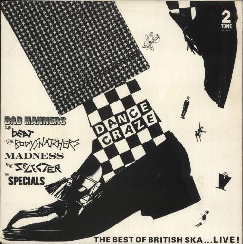 Various-Mod & 2-Tone Dance Craze + Poster vinyl LP album (LP record) UK MVALPDA165206